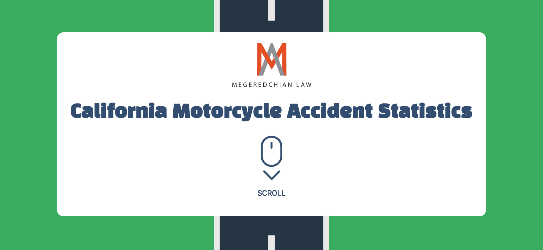 2018 California Motorcycle Accident Statistics Interactive Infographic