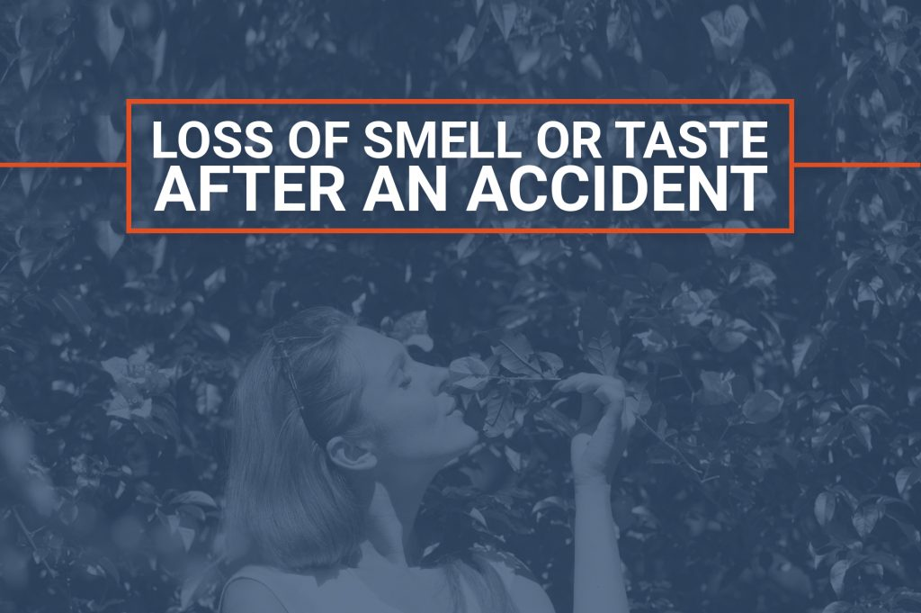 Loss of Smell or Taste After An Accident