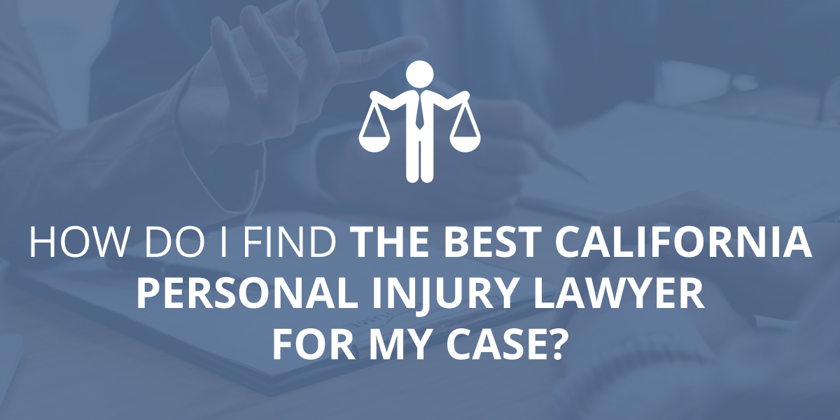 California personal injury lawyer