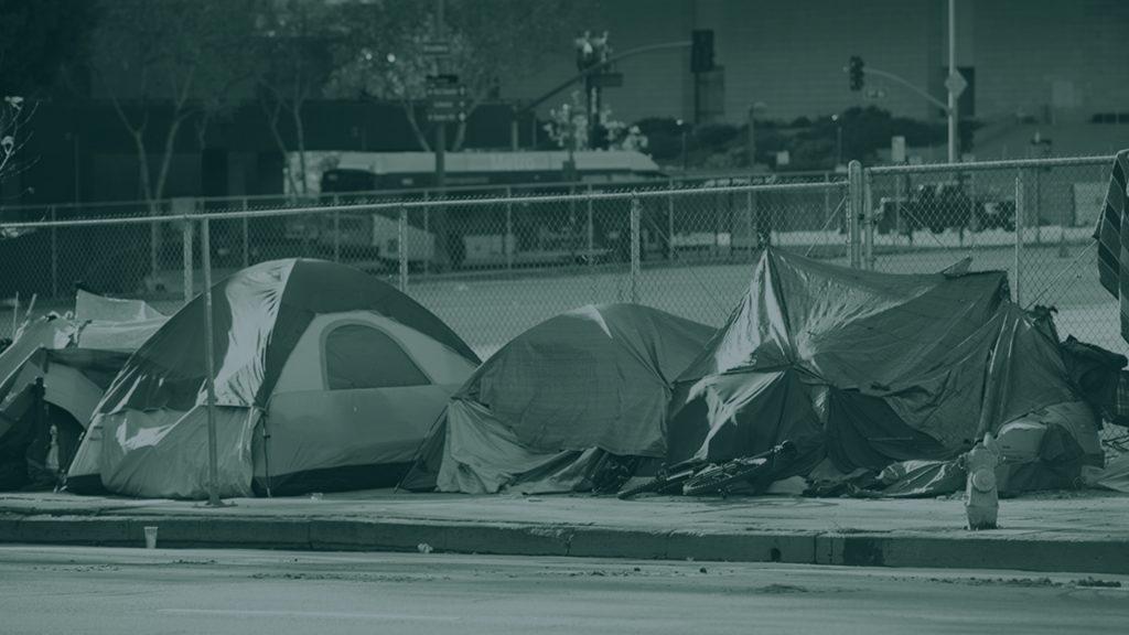 Homeless Encampment a Cause of a Car Accident, Women Sues LA